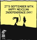 Thumbnail image for La Cucaracha: So how do Americans celebrate El Grito 2018? (toon)