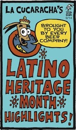 Thumbnail image for La Cucaracha: Sept. 15? It must be ________ Heritage Month (toon)