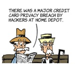 Thumbnail image for La Cucaracha: Home Depot credit card info hacked? (toon)