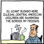 Thumbnail image for La Cucaracha: Could those kid refugees be ISIS terrorists? (toon)