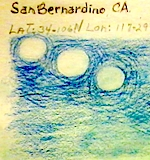 Thumbnail image for San Berdoo man chants, sees blue UFO fly into a doorway in the sky