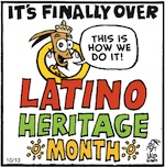Thumbnail image for La Cucaracha: Is Latino Heritage Month over yet? (toon)