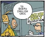 Thumbnail image for La Cucaracha: Let's make English our official language (toon)