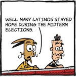 Thumbnail image for La Cucaracha: Where were Latinos on Election Day? (toon)