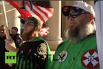 Thumbnail image for Neo-Nazis, KKK in Texas for swastika lighting and BBQ (NSFW video)