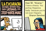 Thumbnail image for La Cucaracha: Self-haters gonna self-hate (toon)