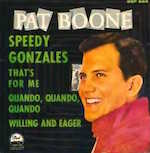Thumbnail image for Pat Boone sings 'Speedy Gonzales, Why Don't You Come Home?' (video)
