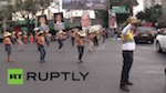 Thumbnail image for Video Link: Topless  women protest PAN land grab in Mexico City
