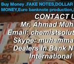Thumbnail image for Buy Money.FAKE NOTES,DOLLAR PRINTING,FAKE MONEY,Euro (video)