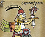 Thumbnail image for La Cucaracha: The Aztecs — where are they now? (#TBT toon)