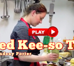 Thumbnail image for Chef Lindsay: How do you make fried kee-so tacos at El Cortez?