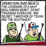 Thumbnail image for La Cucaracha: Texas is ready to fight the Feds — FOR FREEDOM! (toon)