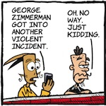 Thumbnail image for La Cucaracha: The George Zimmerman saga continues (toon)