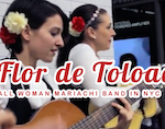 Thumbnail image for All-woman mariachis Flor de Toloache represent in NYC (video)