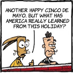 Thumbnail image for La Cucaracha contemplates Cinco de Mayo with two vintage toons