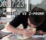 Thumbnail image for Watch: Competitive eater Megatoad vs 2-pound 'Burritozilla'