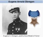 Thumbnail image for Hero, Marine: Private First Class Eugene Arnold Obregon (1930-1950)