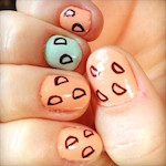 Thumbnail image for @SaraChicaD on Instagram: Here are my nails on tacos (photo)