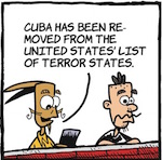 Thumbnail image for La Cucaracha: One less terrorist state? Nevermind (toon)
