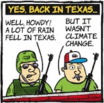 Thumbnail image for La Cucaracha: Texas flooding? Thanks, Obama! (toon)