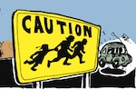 Thumbnail image for La Cucaracha: Signs of change or change of signs at the border? (toon)