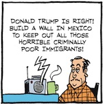 Thumbnail image for La Cucaracha: How did Donald Trump get so rich? (toon)