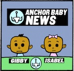 Thumbnail image for La Cucaracha #TBT Throwback Thursday 2010 Toon: Anchor Baby News