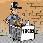 Thumbnail image for La Cucaracha: We have discontinued one menu item (toon)