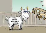 Thumbnail image for A Year Ago Today: Something is scaring the sheeple of the GOP (toon)