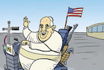 Thumbnail image for Did Pope Francis' visit change the U.S.A. or vice versa? (toon)