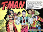 Thumbnail image for T-Man: Fighting the crime, shaking the maracas in Cuba (1951 toon)