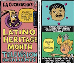 Thumbnail image for La Cucaracha's Latino Heritage Month TV Highlights (toon)