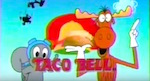 Thumbnail image for When Rocky & Bullwinkle were saved by the (Taco) Bell (1993 video)