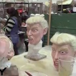Thumbnail image for Terrifying Trump masks are Halloween hit for Mexican firm (video)