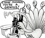 Thumbnail image for Lorne Michaels of Saturday Night Live is a fracking genius! (toon)