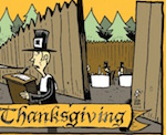 Thumbnail image for La Cucaracha: Ye Second Thanksgiving (#FBF 2007 toon)