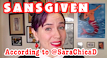 Thumbnail image for POCHO's @SaraChicaD wishes you a Happy Mexican Sansgiven (video)