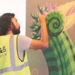 Thumbnail image for British Wahaca taco lady gets a gigantic maiz mural (video)