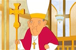 Thumbnail image for Pope visits a (non-Catholic) megachurch in 'Bordertown' [video]