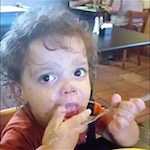 Thumbnail image for This cute niño really loves his frijoles refritos (video)