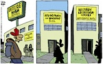 Thumbnail image for La Cucaracha: Hey, kids, Winter break is over (toon)