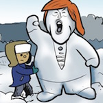 Thumbnail image for La Cucaracha: In the meadow we can build a snowman (toon)