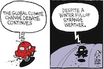 Thumbnail image for La Cucaracha: How about that weird winter weather? (toon)