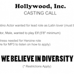Thumbnail image for The Art of the Hollywood #OscarsSoWhite Casting Call (toon)