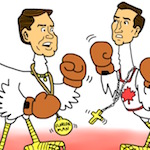 Thumbnail image for GOP Cuban Cockfight! Cruz vs Rubio – en Español (toon)