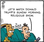 Thumbnail image for La Cucaracha: The Holy Bible according to Donald Trump (toon)