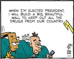 Thumbnail image for La Cucaracha: Another brick in the Trump (toon)