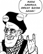 Thumbnail image for In Iran, all eyes are on Iowa (toon)