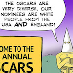 Thumbnail image for What they complaining about? Of course the Oscars are diverse! (toon)