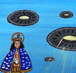 Thumbnail image for An OVNI/UFO came to town — but thankfully didn't harm us (toons)